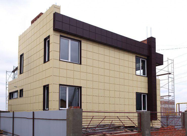 Работа по отделке фасадов цена