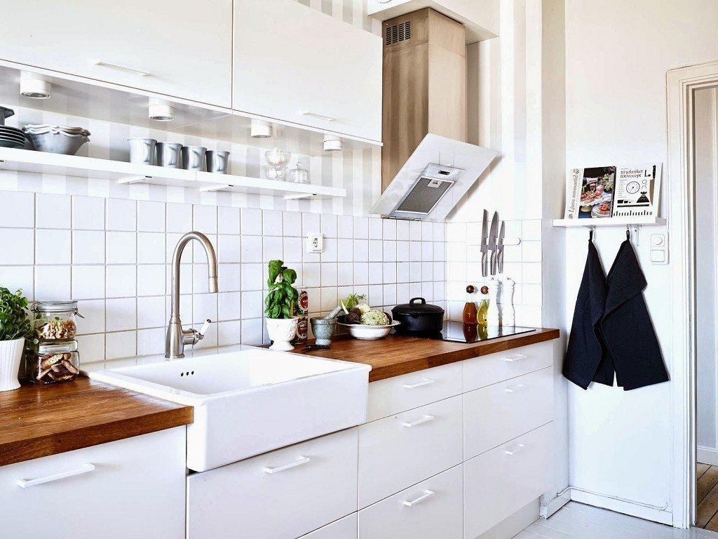 Варианты отделки кухни, фото примеров
