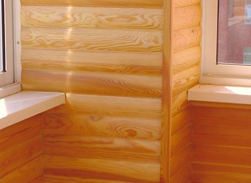 Блок хаус для отделки внутри помещения