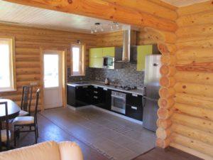 Современная отделка деревянного дома