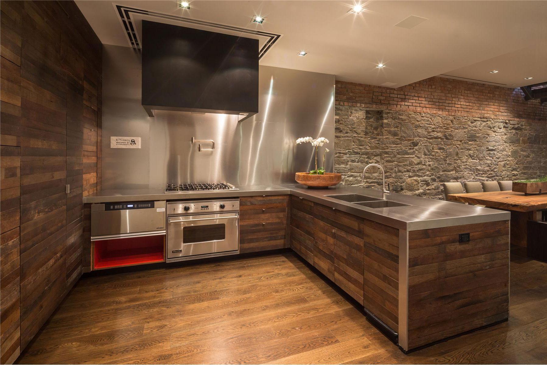 Дизайн отделки стен на кухни