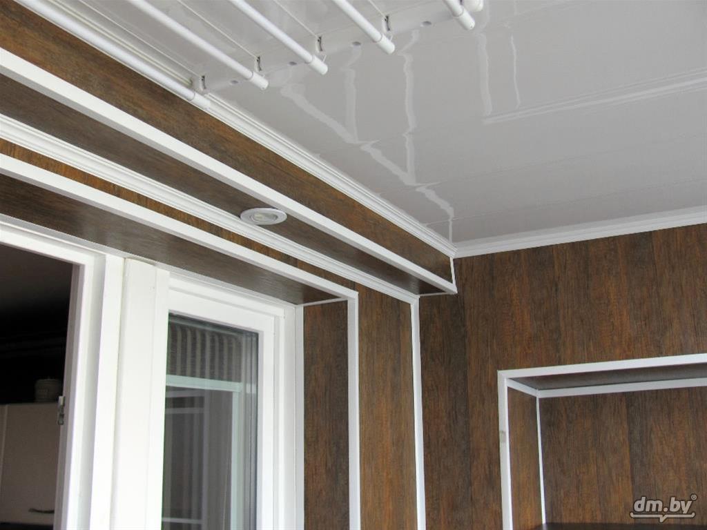 Способ обшивки балкона мдф панелями