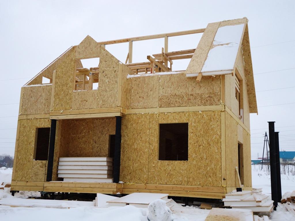 Строительство дома с применением СИП панелей