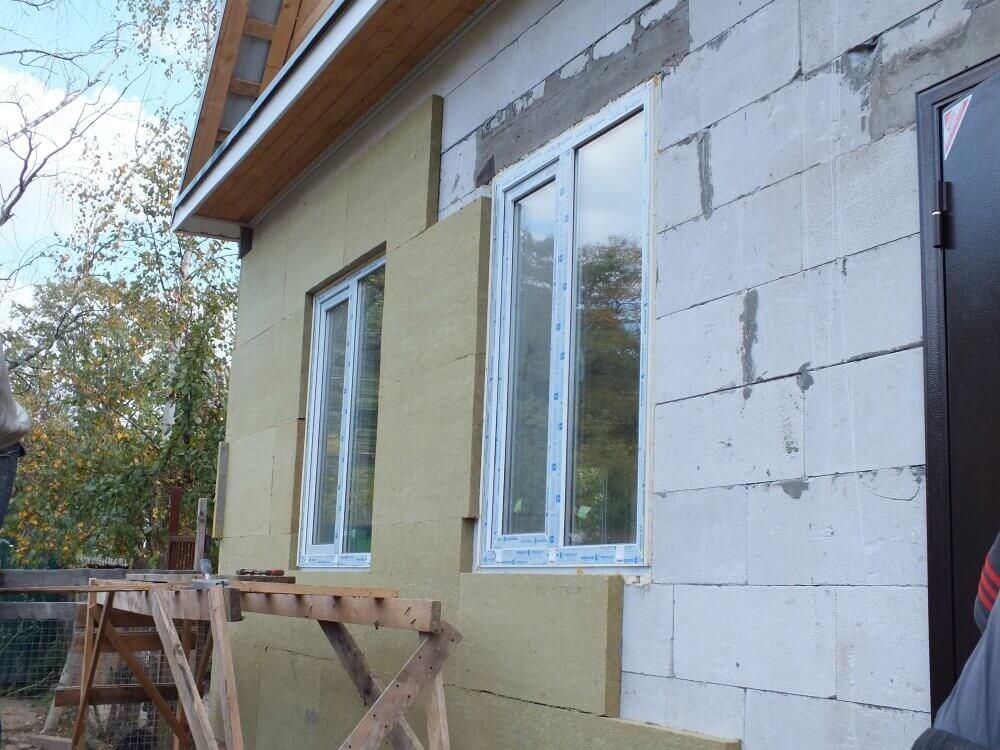 Несколько слов о домах из газобетона и их теплоизоляции