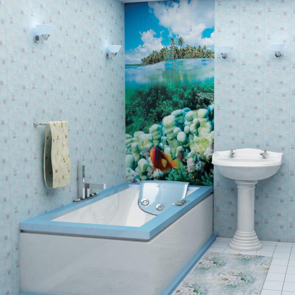 Панели пвх для ванной комнаты фото своими руками