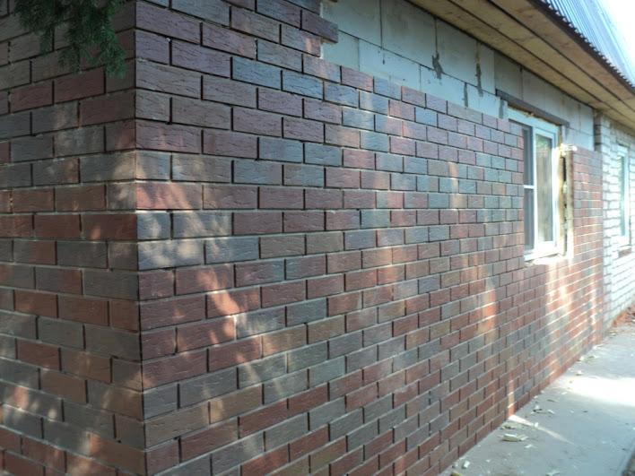 Вариант обшивки фасада