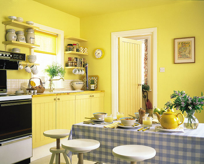 Варианты декорирования стен на кухне