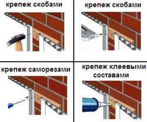 Как крепить панели на обрешетку