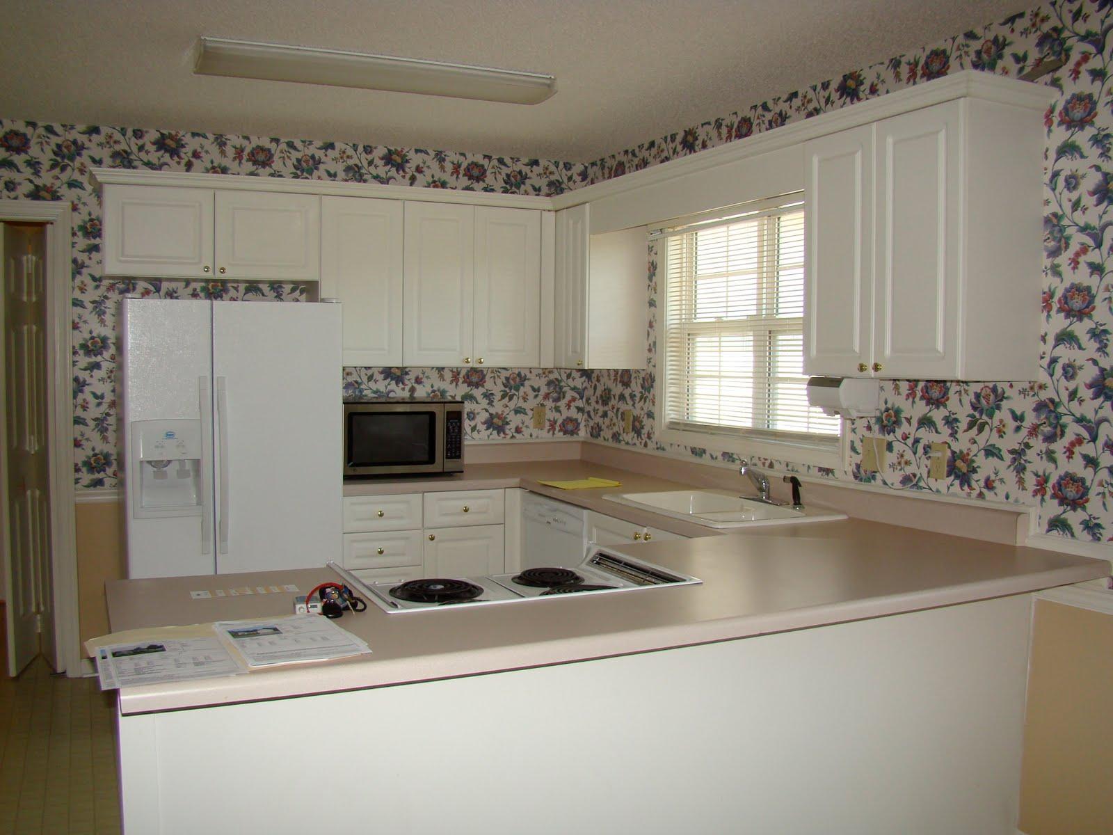 Варианты отделки стен на кухне обоями