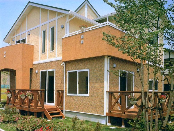 Вентилируемые фасады для коттеджей, для частного дома, для загородного дома