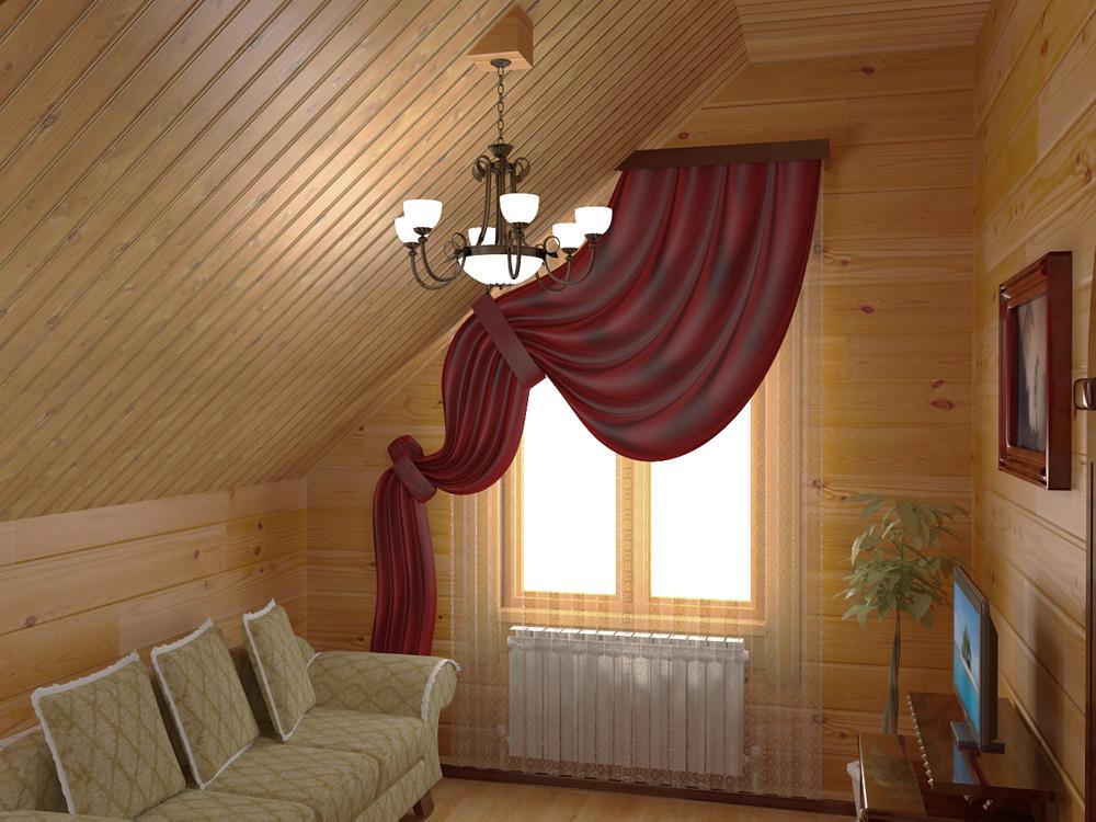 Внешняя и внутренняя отделка деревянного дома имитацией бруса, варианты