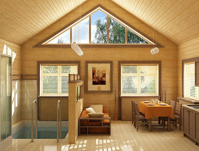 Внутренняя и внешняя отделка загородных домов