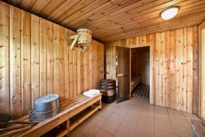 Возможность использования деревянной вагонки в моечной