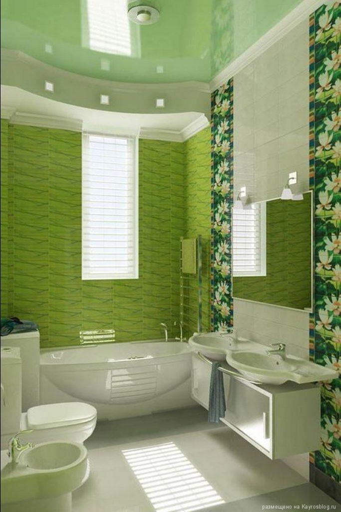 Ванная комната дизайн для маленькой ванны стеновыми панелями