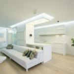 Дизайн белой квартиры