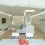 Дизайн квартиры белого цвета