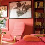 Дизайн-проект квартиры красного цвета