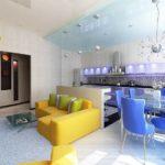 Как правильно оформить дизайн желтой квартиры