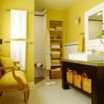 Красивая желтая квартира