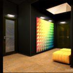 Необычный дизайн желтой квартиры