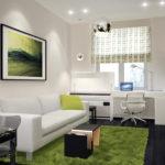 Несколько правил создания красивого дизайна зеленой квартиры