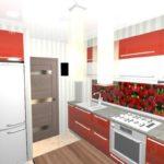 Несколько принципов создания красивого дизайн красной квартиры