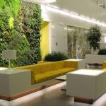 Оформление дизайна квартиры зеленого цвета