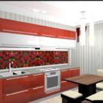 Оформляем дизайн красной квартиры