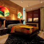 Пример яркого желтого дизайна квартиры