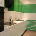 Привлекательный оттенок дизайна зеленого цвета
