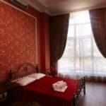 Вариант дизайна, оформленного в красной квартире