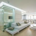 Вариант оформления современной квартиры белого цвета