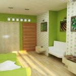 Выбираем дизайн для квартиры зеленого цвета