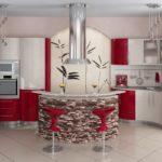 Выбираем дизайн красной квартиры