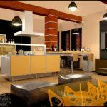 Яркий дизайн квартиры, оформленной в желтом цвете
