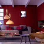 Бордовый цвет в дизайне квартиры