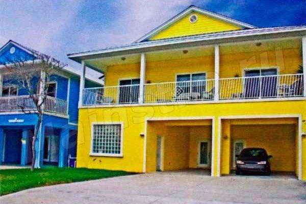 Частный дом с приятным желтым дизайном