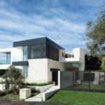 Дизайн дома белого цвета