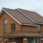 Дизайн дома коричневого цвета
