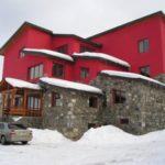 Дизайн красного дома