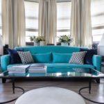 Дизайн квартиры в синих тонах