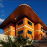 Дизайн оранжевого дома