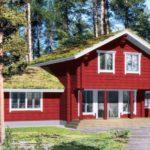 Дизайн проект дома в красных тонах