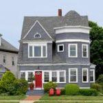 Дизайн серого дома