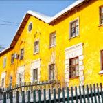 Дизайн желтого дома