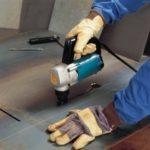 Электрические ножницы для резки металла