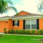 Фото дизайна дома оранжевого цвета