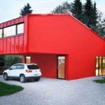 Как оформить дизайн красного дома