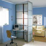 Как правильно создать дизайн голубой квартиры
