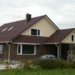 Классический дизайн коричневого дома